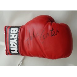 John Conteh Boxing signed authentic signature autograph glove COA
