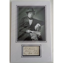 Benjamin Disraeli PM genuine authentic signed autograph display 2