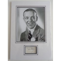 Fred Astaire genuine authentic autograph signed signature AFTAL UACC