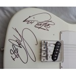 Status Quo Rick Parfitt Francis Rossi  signed genuine authentic autograph guitar