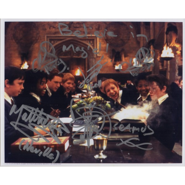 Harry Potter Weasley Twins Devon Malcolm + genuine signed autograph photo