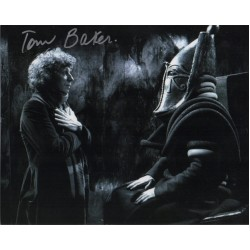Tom Baker Doctor Who authentic signed genuine signature photo 5
