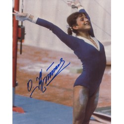 Olga Korbut Olympics genuine authentic signed autograph photo COA
