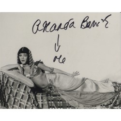 Amanda Barrie Carry On genuine signed authentic autograph photo