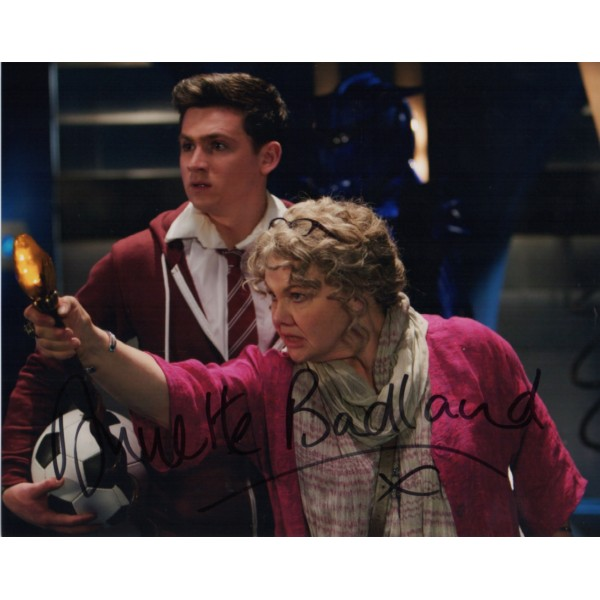 Annette Badland Doctor Who genuine authentic autograph signed photo.