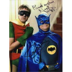 David Jason Only Fools Horses Batman genuine signed authentic signature photo