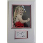 Duffy music Rock Ferry signed authentic signature autograph photo display