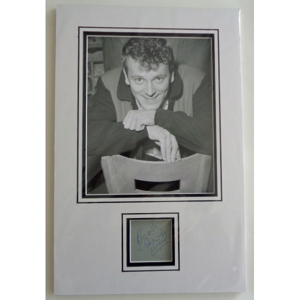 Gene Vincent genuine signed authentic signature autograph photo display