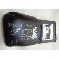 Joe Calzaghe Boxing signed authentic signature autograph glove COA