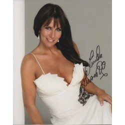Linda Lusardi signed genuine authentic autograph photo COA AFTAL