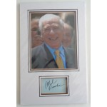 Mel Brooks comedy genuine authentic signed autograph display