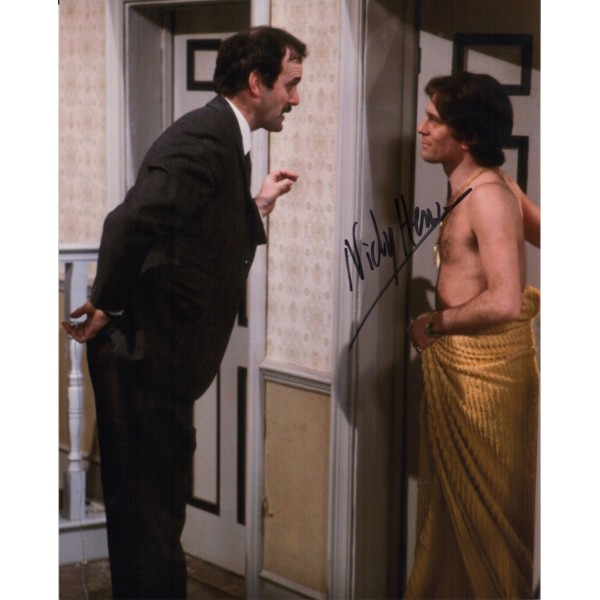 Nicky Henson Fawlty Towers genuine authentic autograph signed photo