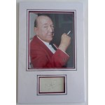 Noel Coward genuine authentic autograph signed display