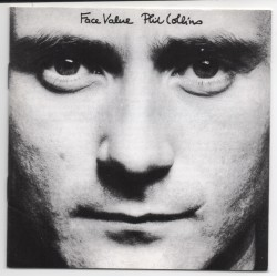 Phil Collins Face Value music signed genuine signature autograph CD COA