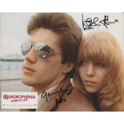 Quadrophenia Leslie Ash Garry Cooper signed genuine autograph photo
