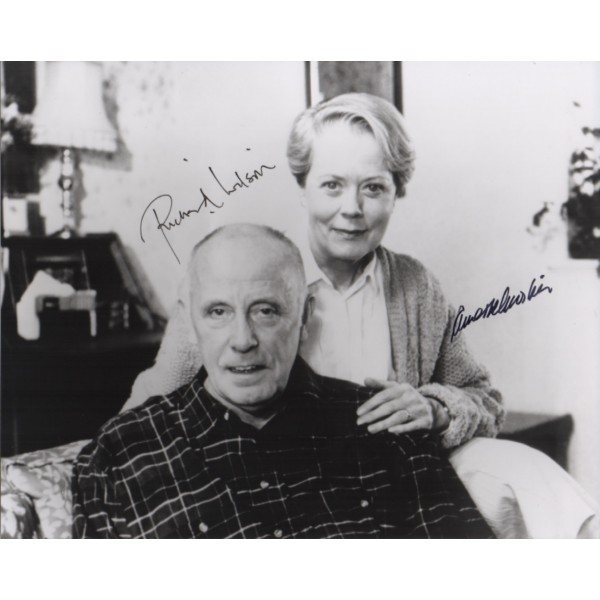 Richard Wilson One Foot in the Grave signed authentic signature autograph 2