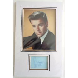 Robert Wagner genuine authentic signed autograph signature display