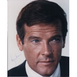 Roger Moore James Bond genuine authentic autograph signed photo 6.