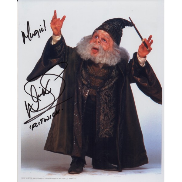 Warwick Davis Harry Potter genuine authentic autograph signed photo 2