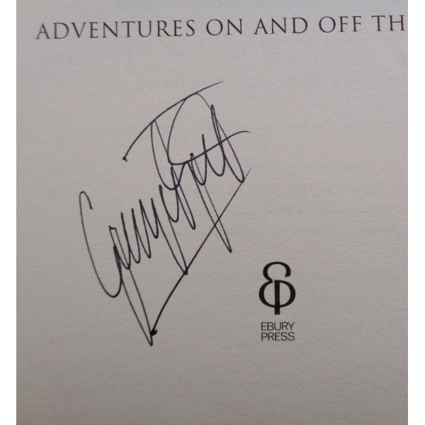 George Best Football Manchester United genuine signed authentic book