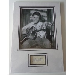 Cliff Richard signed authentic genuine signature autograph display 2