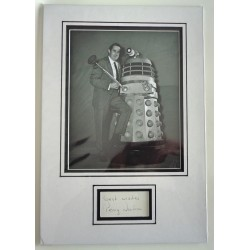 Terry Nation Doctor Who Daleks signed authentic autograph photo display