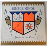 Simple Minds Jim Kerr Burchil Gaynor authentic signed autograph album COA