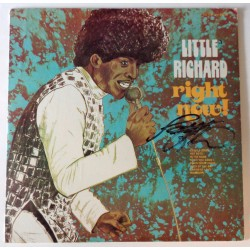 Little Richard Music genuine authentic signed autograph album COA AFTAL