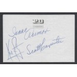 Neil Armstrong  Isaac Asimov authentic signed genuine autograph signature COA