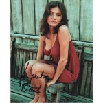 Jacqueline Bisset genuine signed authentic signature photo COA UACC RACC