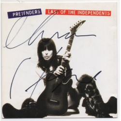 Chrissie Hynde  Pretenders authentic signed genuine signature CD COA AFTAL UACC