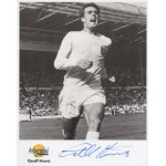 Geoff Hurst England football genuine authentic signed autograph photo