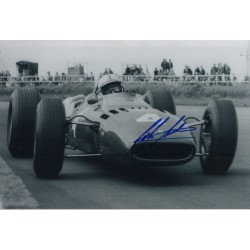 John Surtees Ferrari F1 genuine authentic signed autograph photo COA AFTAL