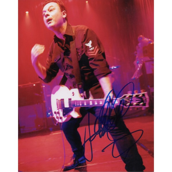 James Dean Bradfield Manic Street signed authentic autograph photo