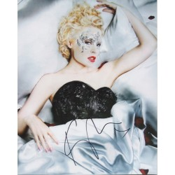 Kylie Minogue music signed authentic autograph photo COA UACC AFTAL