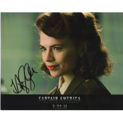 Hayley Atwell Captain America genuine authentic signed autograph photo COA