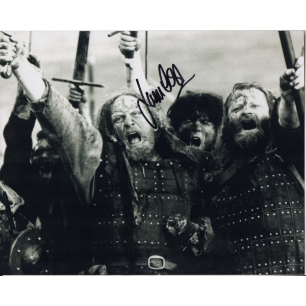 James Cosmo BraveHeart signed autograph colour photo 1
