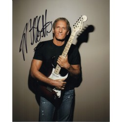 Michael Bolton Music genuine signed authentic signature photo COA AFTAL