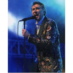 Bryan Ferry Roxy Music signed authentic genuine photo COA UACC AFTAL