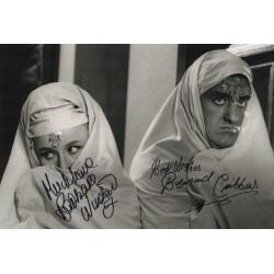 Barbara Windsor Bernard Cribbins Carry On signed autograph photo COA
