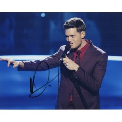 Michael Buble music genuine authentic signed autograph photo 3