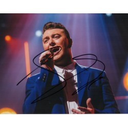 Sam Smith James Bond authentic signed autograph colour photo COA