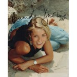 Amanda Donohoe genuine signed authentic signature photo COA UACC