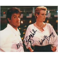 Brigitte Nielsen Rocky genuine signed authentic signature image COA AFTAL