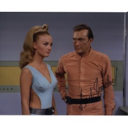 Barbara Bouchet Star Trek signed original genuine autograph authentic photo
