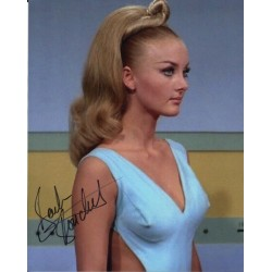 Barbara Bouchet Star Trek signed original celebrity authentic autographs COA