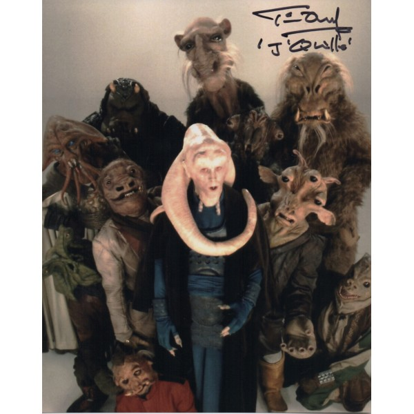Tim Dry Star Wars genuine authentic signed autograph photo COA