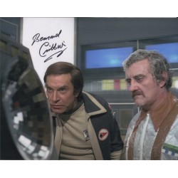 Bernard Cribbins Space 1999 authentic signed genuine autograph photo COA UACC