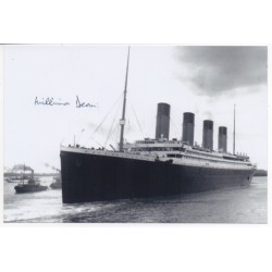 RMS Titanic Millvina Dean authentic genuine signed image 16