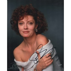 Susan Sarandon genuine authentic signed autograph photo COA AFTAL
